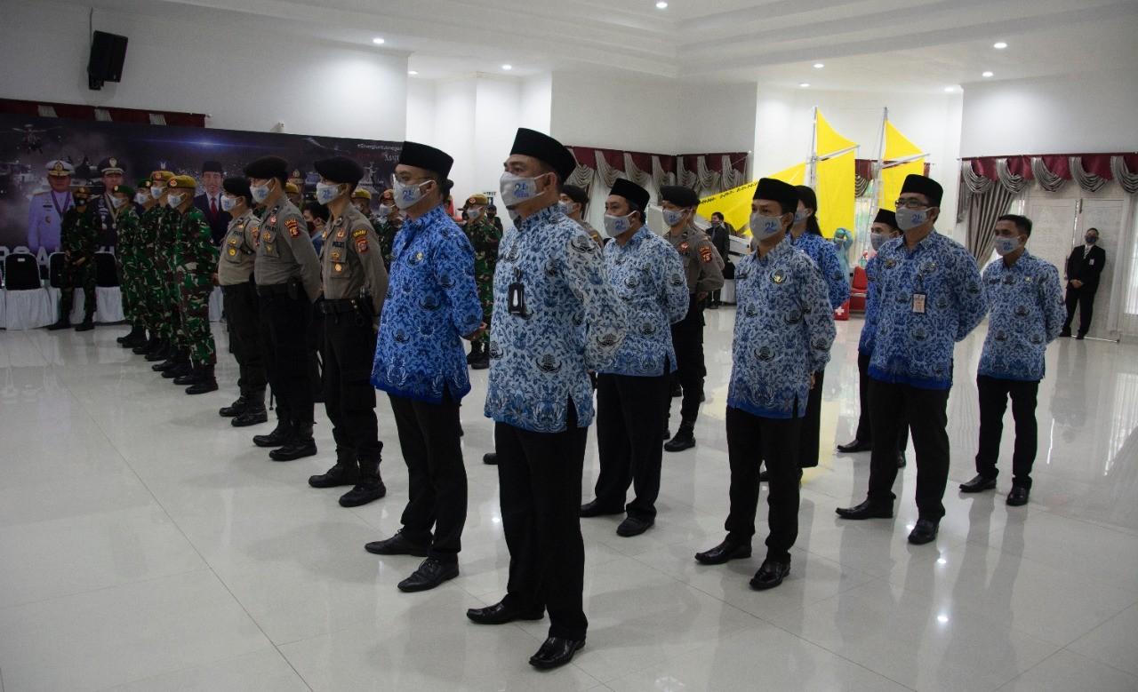 Kepala BKPSDM Hadiri Rangkaian Peringatan Hut Ke 21 Kota Bontang