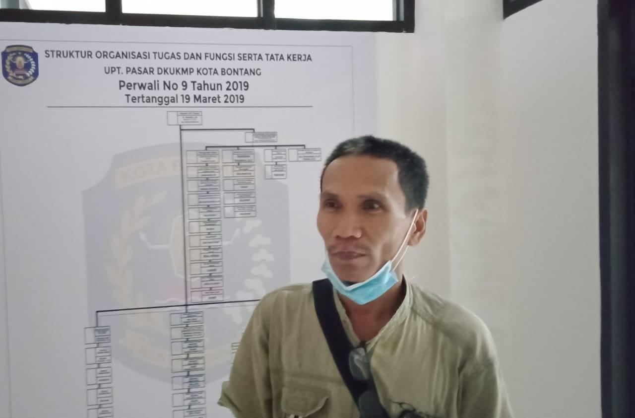 Pelapak Pasar Tamrin Sepi Pembeli, Pedagang Keluhkan Keberadaan Penjual Pinggir Jalan