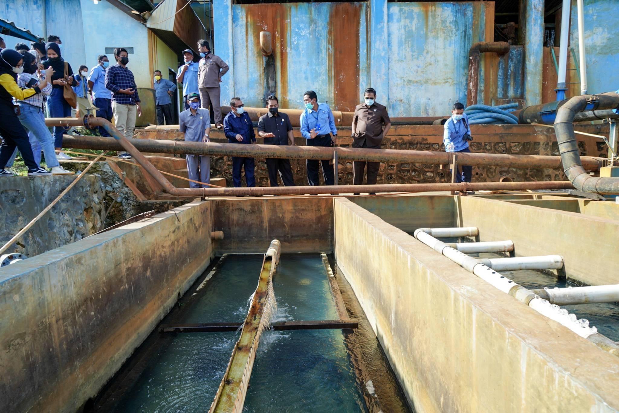 Dewan Desak Pemkot Selesaikan Kebutuhan Air Bersih Masyarakat Kota Taman