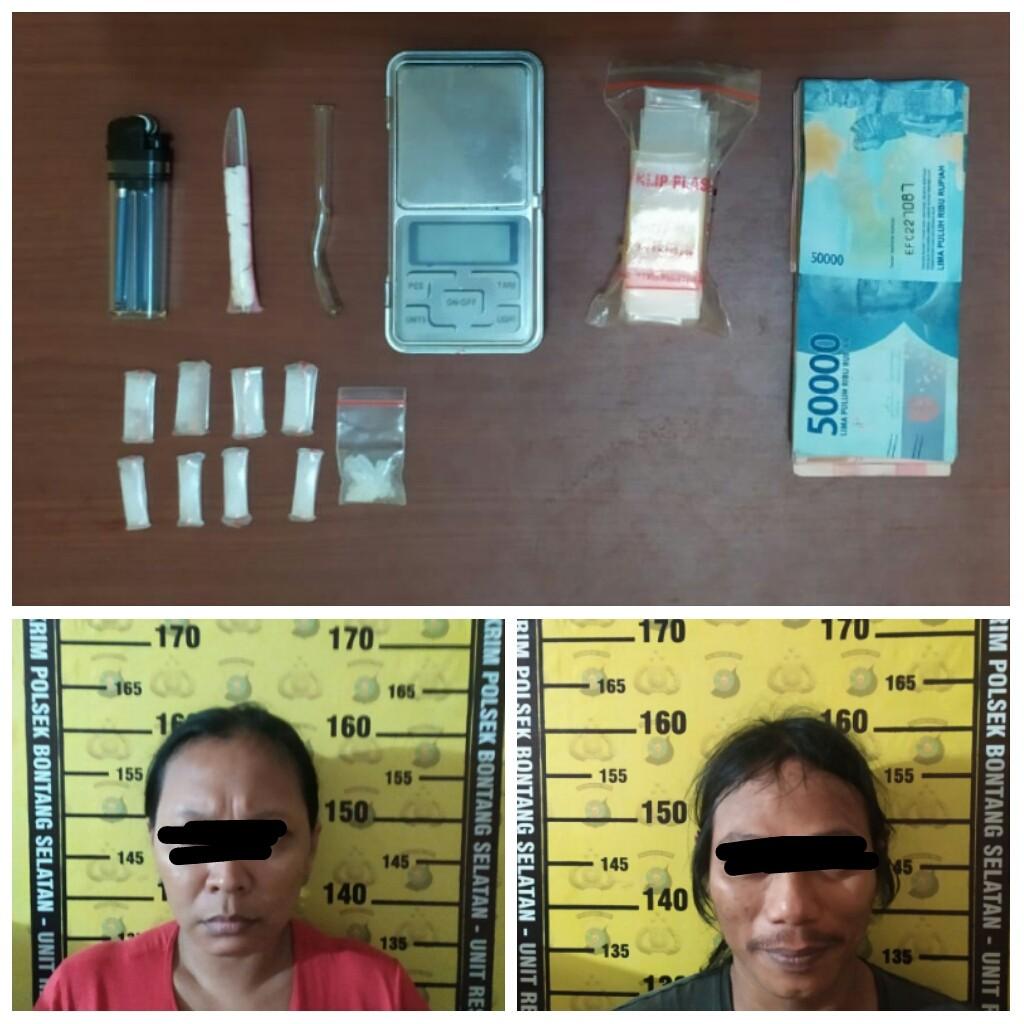 Gerebek Wisma Queen Prakla, Polisi Temukan 9 Paket Sabu