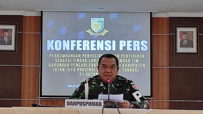 Nekat Bakar 2 Warga Papua Berujung 9 Oknum TNI Jadi Tersangka