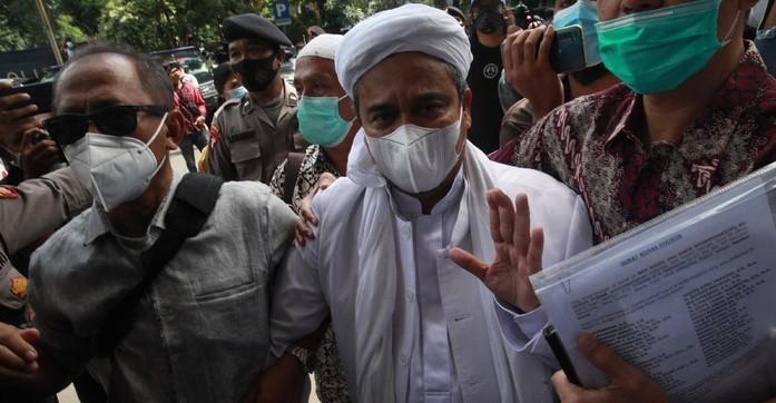 Ini Pasal yang Disangkakan ke Habib Rizieq di Kasus Kerumunan Megamendung